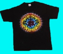 Rainbow Circle tie-dye T-shirt
