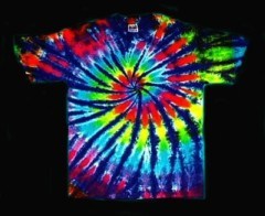 Color Swirl tie-dye T-shirt
